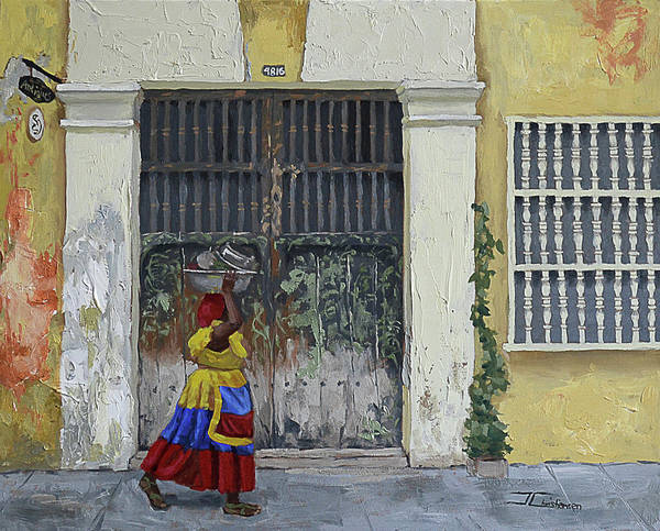 Painting - Colombia by Jan Christiansen