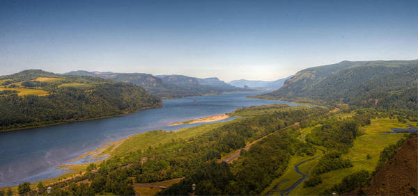 Wall Art - Photograph - Columbia River Gorge  by Drew Castelhano