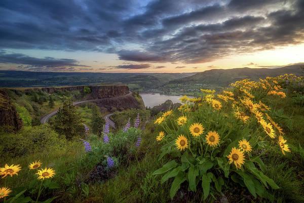 Wall Art - Photograph - Columbia River Gorge Sunrise by Gary Randall