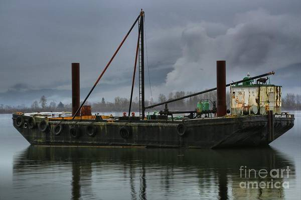Photograph - Columbia River Gorge Tug Boat by Adam Jewell