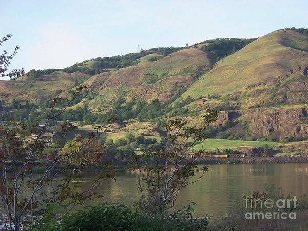 Photograph - Columbia River Hills by Charles Robinson