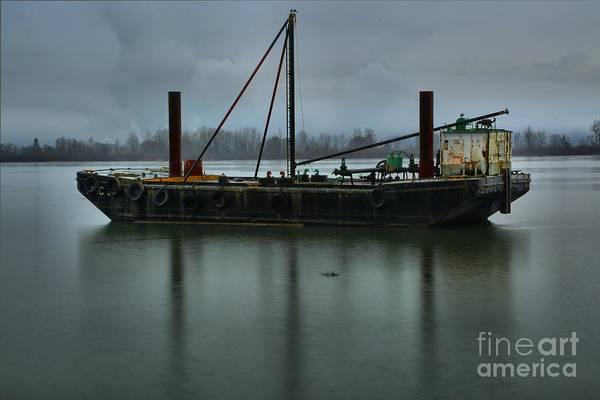 Photograph - Columbia River Tug by Adam Jewell