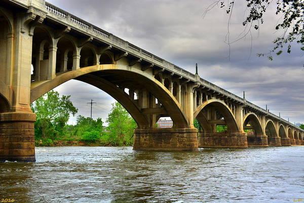 Photograph - Columbia S C Gervais Street Bridge by Lisa Wooten