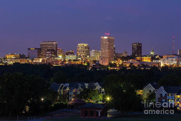 Photograph - Columbia Skyline At Twilight by Charles Hite