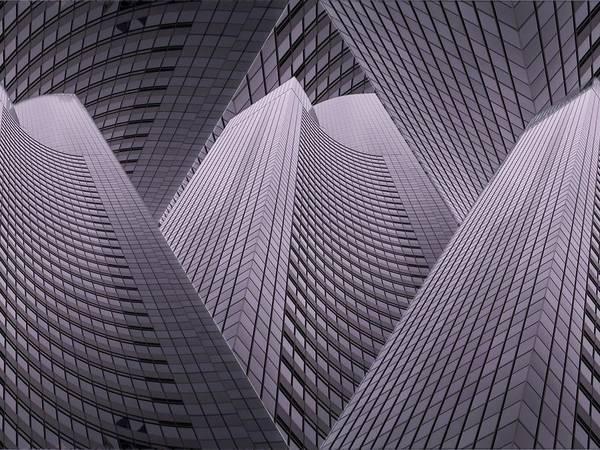 Highrise Digital Art - Columbia Tower Seattle Wa 2 by Tim Allen