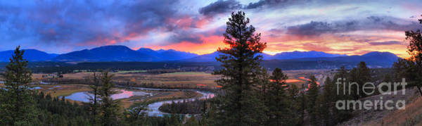 Photograph - Columbia Wetlands Fire In The Sky by Adam Jewell