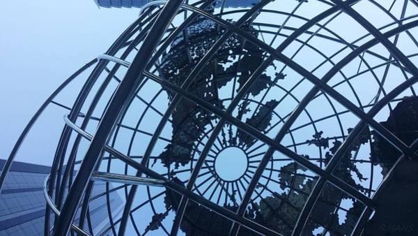 Photograph - Columbus Circle Globe by Rob Hans