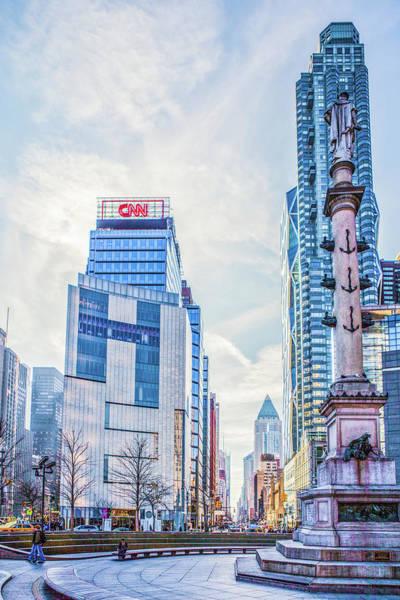 Photograph - Columbus Circle by Theodore Jones