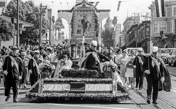 Photograph - Columbus Day Parade San Francisco by Frank DiMarco