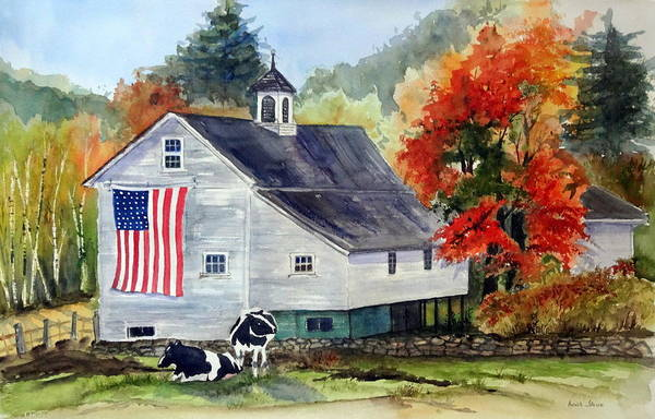 Painting - Columbus Day Weekend by Anna Jacke