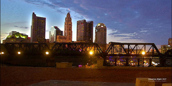 Art Print featuring the digital art Columbus Night 1517 by Brian Gryphon