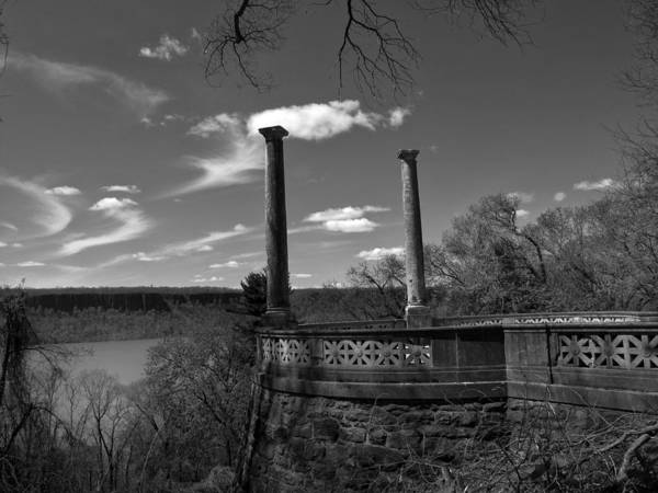 Photograph - Columns At The Overlook by Jessica Jenney