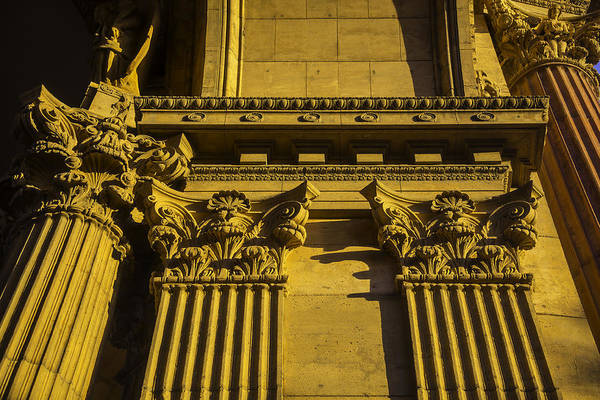 Allegory Photograph - Columns Of The Palace Of Fine Arts by Garry Gay