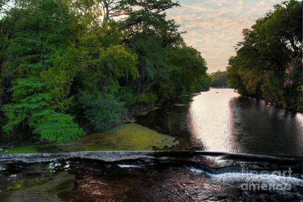 New Braunfels Photograph - Comal Sunset by Kelly Wade