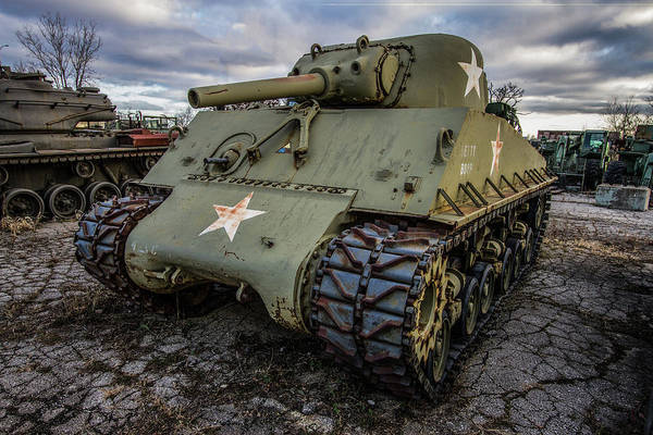 Wall Art - Photograph - Combat Tank by Mike Burgquist