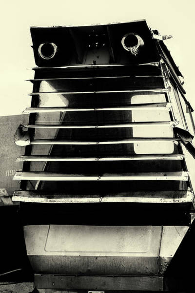 Photograph - Combine Harvester Eyes by John Williams