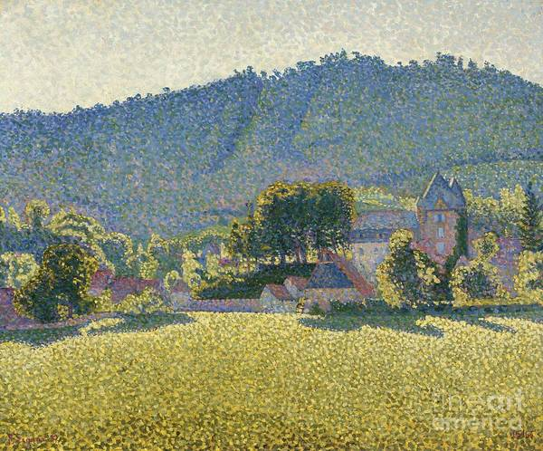 Ch Painting - Comblat-le-chateau by Celestial Images