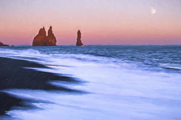 Iceland Digital Art - Come Ashore II by Jon Glaser