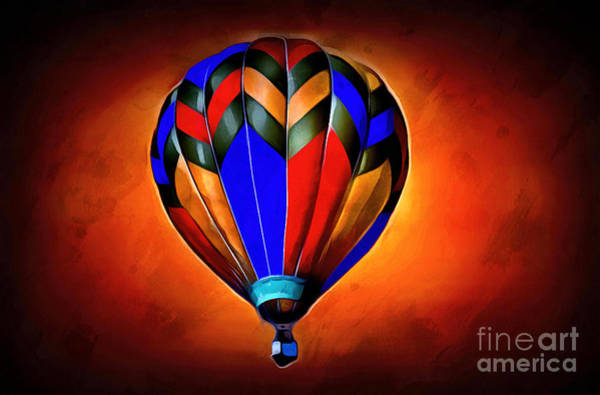 Hot Air Balloons Photograph - Come Away With Me by Krissy Katsimbras