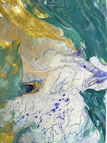 Wall Art - Painting - Come Forth As Gold  by Bridget Weber