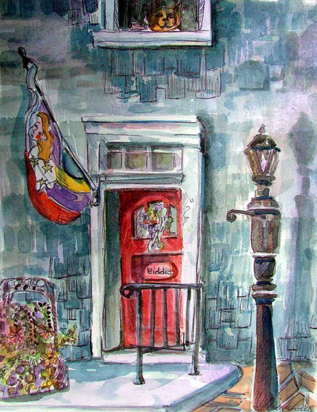 Wall Art - Painting - Come In by Mindy Newman