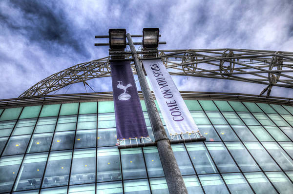 Wall Art - Photograph - Come On You Spurs by David Pyatt