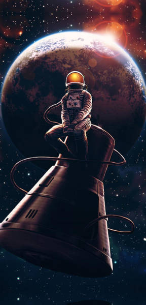 Nasa Wall Art - Digital Art - Come Pick Me Up by Canvas Cultures