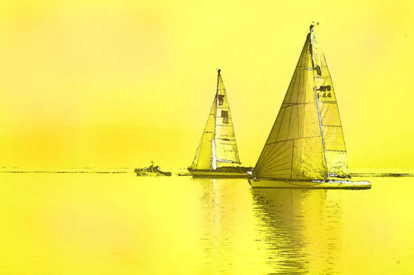 Digital Art - Come Sail Away by Shelli Fitzpatrick
