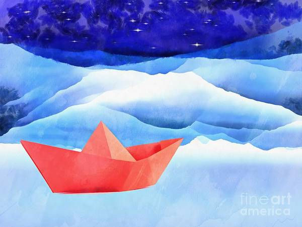 Painting - Come Sail Away With Me by Edward Fielding