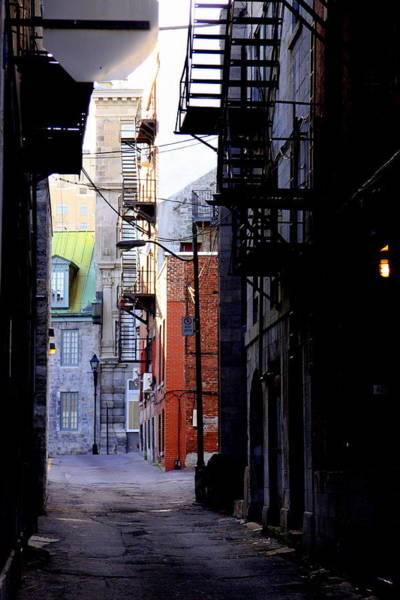 Old Montreal Photograph - Come Search For Me.  by Russell Styles