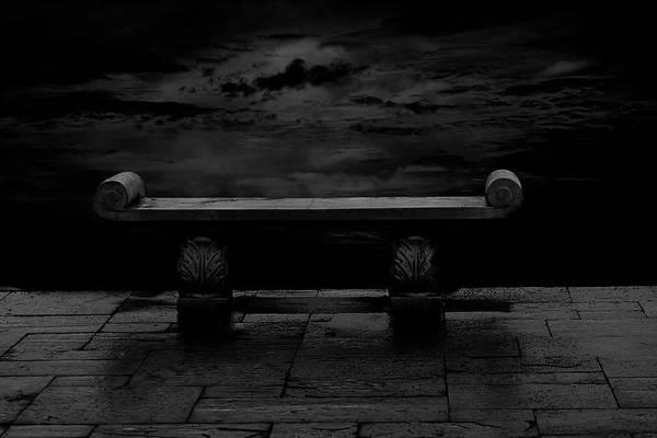 Suspense Digital Art - Come Sit Let's Talk by Carolyn Parker