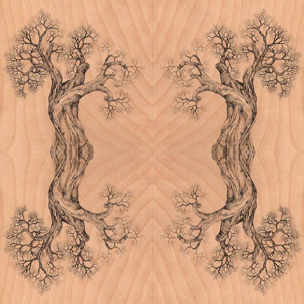 Come Together Tree 38 Hybrid 1  Art Print