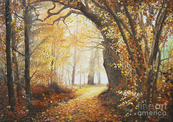 Painting - Come With Me by Sorin Apostolescu