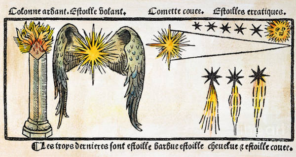 Photograph - Comet, 1496 by Granger