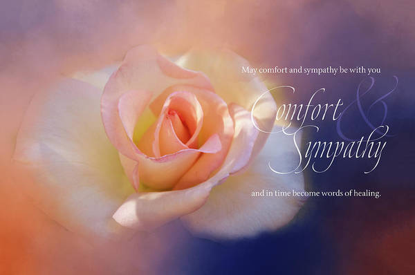 Wall Art - Digital Art - Comfort And Sympathy by Terry Davis