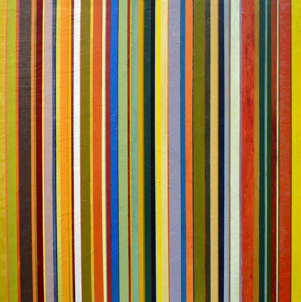 Painting - Comfortable Stripes by Michelle Calkins