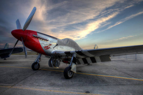 Photograph - Comfortably Numb Buttoned Up For The Night At The Hollister Airshow by John King