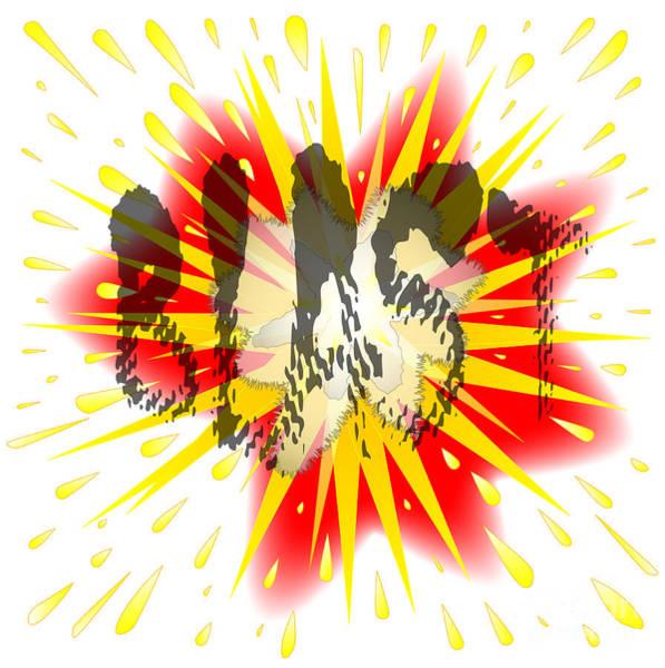 Detonation Digital Art - Comic Blast by Bigalbaloo Stock