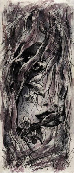 Psychosis Painting - Coming Apart by Rachel Christine Nowicki