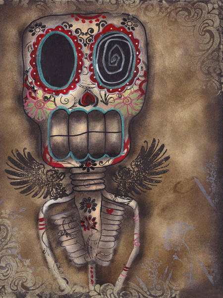 Lowbrow Wall Art - Painting - Coming For You by Abril Andrade Griffith