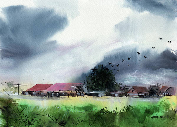Painting - Coming Home 2 by Anil Nene