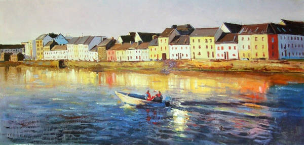 Galway Painting - Coming Home by Conor McGuire