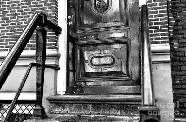 Photograph - Coming Home In Amsterdam Mono by John Rizzuto