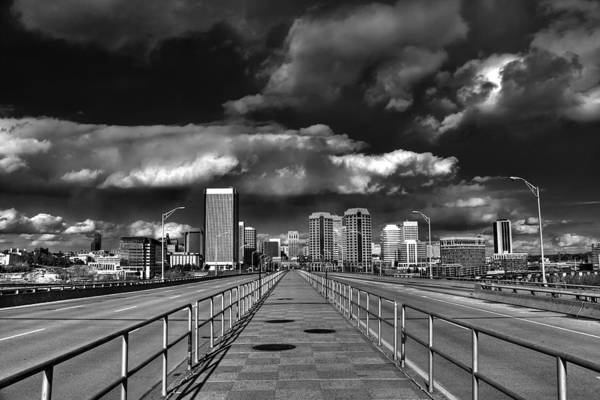 Manchester Skyline Wall Art - Photograph - Coming In On Manchester by Tim Wilson