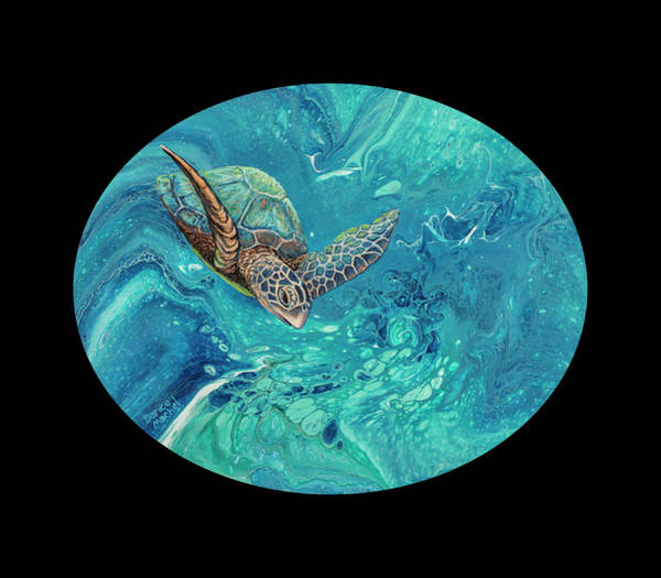 Painting - Coming Out Of The Depths 2 by Darice Machel McGuire