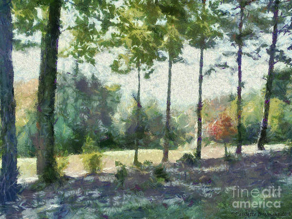 Painting - Coming Out Of The Woods by Paulette B Wright