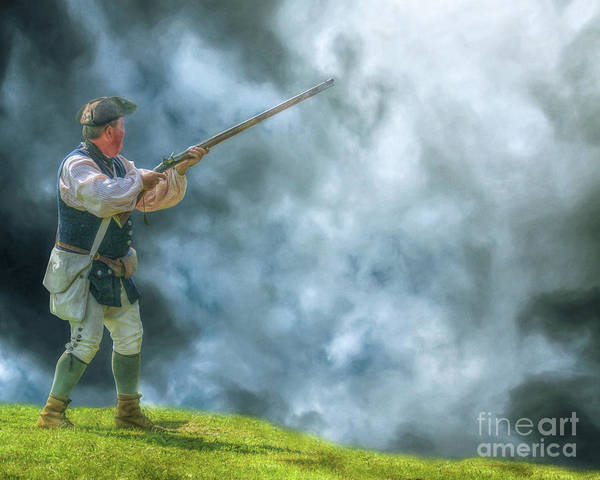 Declaration Of Independence Digital Art - Coming Storm American Revolution by Randy Steele