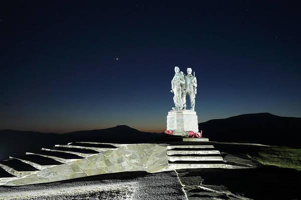 Photograph - Commando Memorial by Grant Glendinning