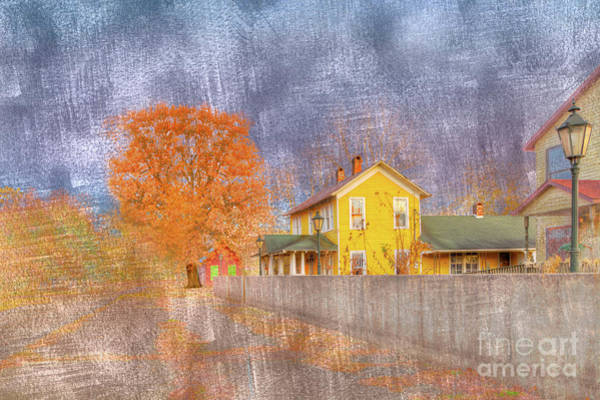 Historic House Digital Art - Commerce Mo by Larry Braun