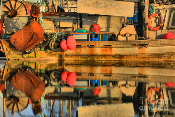 Photograph - Commercial Fishing Gear by Adam Jewell